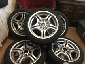 BMW Style 68's with original spare