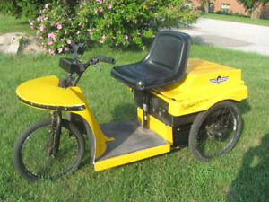 ELECTRIC SCOOTER FOR YARD WORK