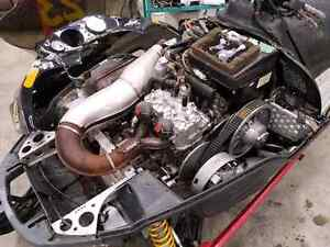 2   440 zx sleds for parts