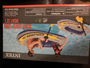 2 man inflatable boat (brand new/unopened)