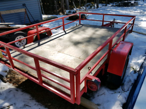 6ft wide 10ft long trailer