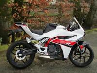 HYOSUNG GD250R, NOW IN STOCK AT KJM SUPERBIKES.