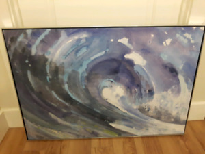 Wave Canvas Painting