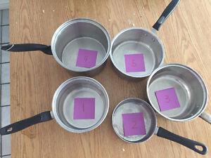 Assorted Pots