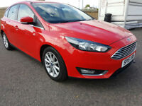 1 OWNER - Ford Focus EcoBoost Titanium, £20 ROAD TAX, 68MPG