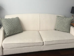 Loveseat & sofa for sale... only one year old, cushions included