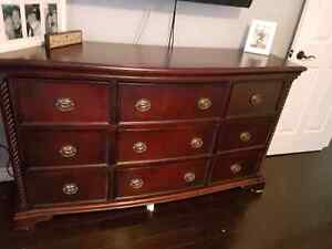 Queen Bedroom Set-8 pieces Belleville Belleville Area image 1