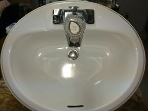 Bathroom Sink and Faucet - 2 sets available Windsor Region Ontario image 1