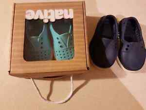 Baby Native shoes 2 pairs size C4