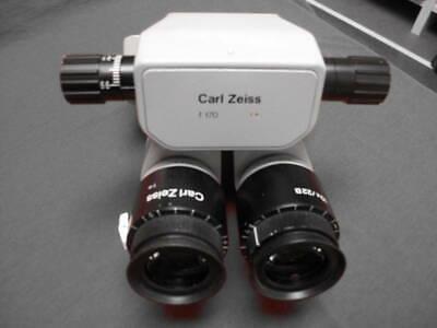 Carl Zeiss 0-180deg Inclinable Binocular W 10x 22b Eyepieces