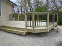 decks any material *  railing any material * decking