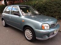 Nissan micra 1.0 5dr 2001