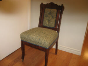 LOVELY DIFFERENT ANTIQUE OLD LADIES CHAIR  FROM THE 1800'S