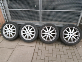 """17"""" inch Audi Alloy wheel with as"""