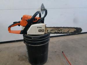 Stihl 025 chainsaw