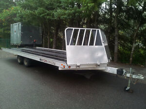 2012 Aluma 4 place Snowmobile Trailer