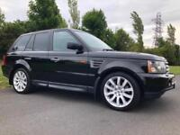 LAND ROVE RANGE ROVER SPORT 3.6 TDV8 *** HSE *** LOW MILES & 1 OWNER ***