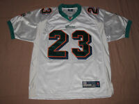 Chandail de Football Dolphins #23 Brown