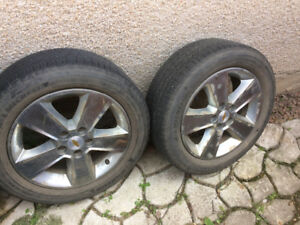 Tires on chev Traverse rims need gone