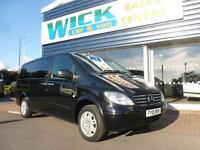 2010 Mercedes-Benz VITO 111 CDI LONG DUALLINER 5 SEATER *NO VAT* Manual Combi Va