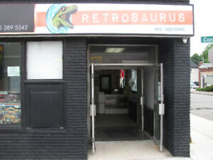 Retrosaurus Toys & Video Games is now open! Buy Sell Trade