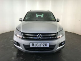 2012 VOLKSWAGEN TIGUAN SE TDI BLUEMOTION TECH 1 OWNER VW SERVICE HISTORY FINANCE