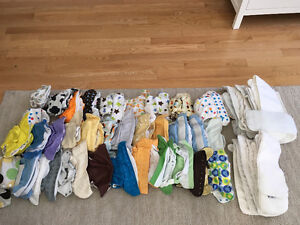 CLOTH DIAPERS-EXCELLENT CONDITION