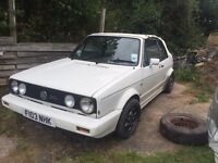 Golf mk1 gti breaking solid shell Porsche alloys can post at cost