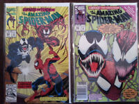 Amazing Spider-Man 361-363. 1st App. of Carnage! + Max Carnage!!