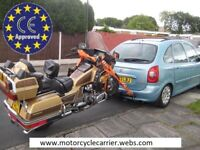 MOTORCYCLE TRAILER BIKE/TRIKE/SCOOTER CARRIER NEW IN EUROPE