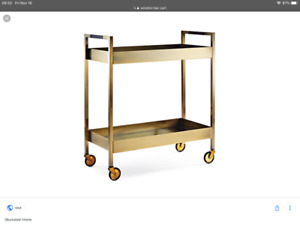 Winston Bar Cart By Brian Gluckstein