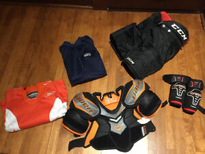 Hockey - Junior - Pantalon - Épaulette - Coude - Combinaison