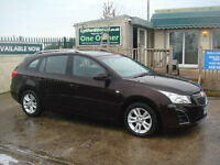 Chevrolet Cruze 1.8 ( 141ps ) Station Wagon Auto 2013MY LT PAY AS YOU GO