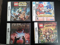 Jexu Nintendo Ds Star Wars / Indiana Jones...