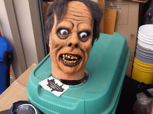 large collection  masks & display busts haunted house halloween Peterborough Peterborough Area image 5