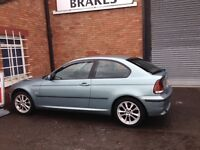 BMW E46 320TD COMPACT BREAKING / no engine but everything else available