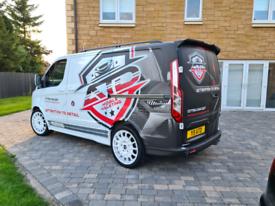 2014 Genuine Transit Custom Sport no Vat plus valeting business