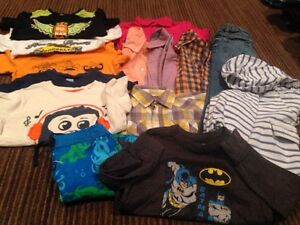 Size 5T lot of boys clothes