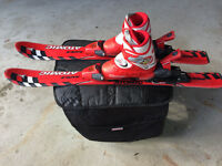 Child Skis, Bindings and Boots