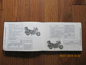 1986 Honda Aspencade SE-i Owner's manual Sarnia Sarnia Area image 5