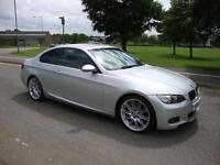 BMW 330d 3.0TD M Sport Coupe Auto 2008 Nav+Leather, 79k FSH