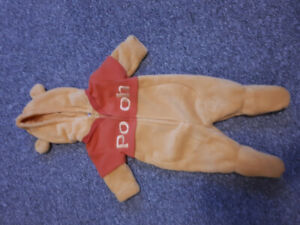 0-3 months Pooh costume