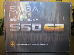 EVGA SuperNOVA 550 G2 GOLD 550W Fully Modular PSU Power Supply