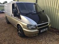 FORD TRANSIT 260S 85ps swb, silver, leather captain seats, Silver, Manual, Diese