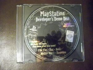 Playstation (PSX)demo.