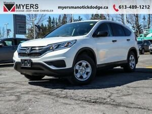 2015 Honda CR-V LX  - Bluetooth -  Heated Seats - $138.28 B/W