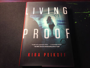 Living Proof by Kira Peikoff (NEW) in Hardcover