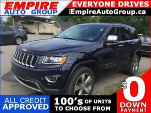 2016 JEEP GRAND CHEROKEE LIMITED * 4WD * LEATHER * BACKUP CAMERA