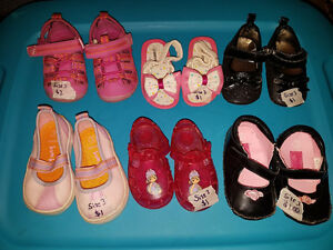 Selling as a lot only. Size 3 toddler. All 6 pairs for $5.00