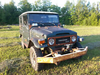1981 Toyota Land Cruiser BJ40 SUV, Crossover